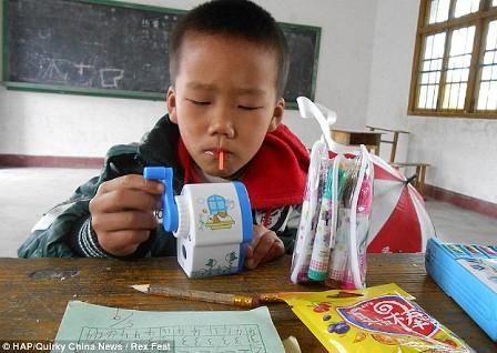 مدرسة صينية طوابق فصلاً.. لتلميذ