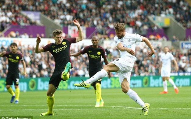 جديد اخبار الرياضة مانشيستر سيتي يصعق سوانزي بثلاثية في الدوري الإنجليزي