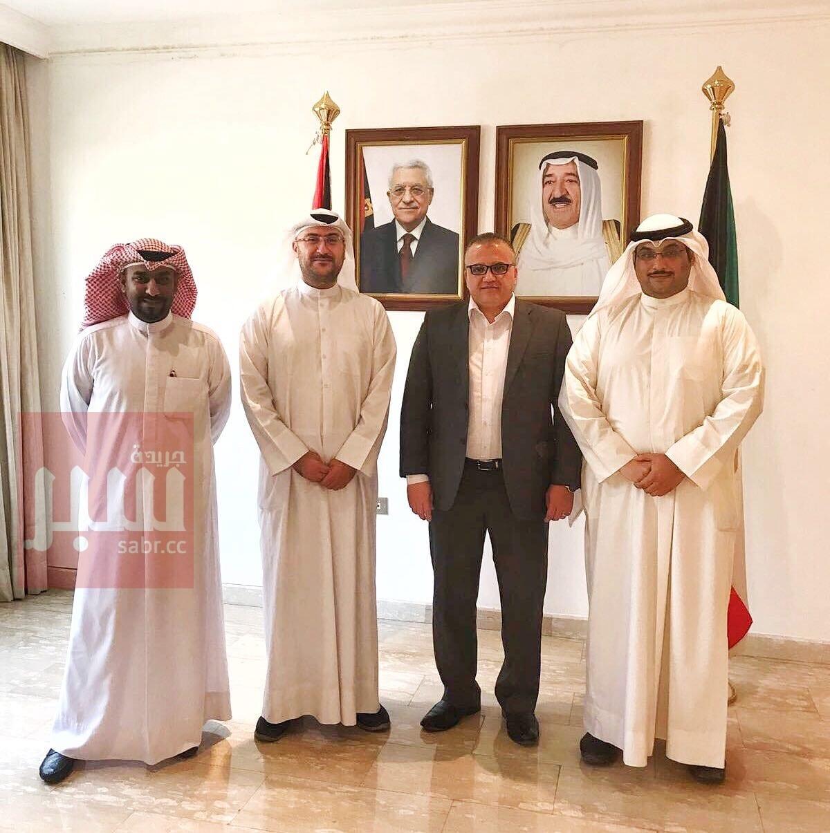 القوى السياسية الكويتية سلمت سفارة فلسطين رسالة تضامنية مع الشعب الفلسطيني وصموده