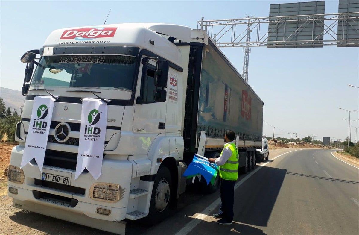جمعية تركية ترسل 75 طنا من مياه الشرب إلى سوريا