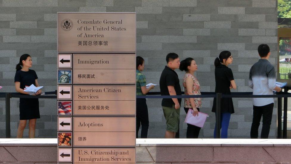 الخارجية الأمريكية لموظفيها في الصين احذروا الأصوات الغريبة